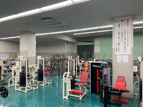 トレーニング室施設写真|尼崎市...
